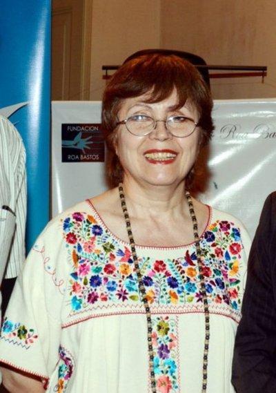 Susy Delgado gana el Premio Nacional de Literatura