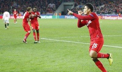 El gol de Lorenzo Melgarejo para su equipo en Champions