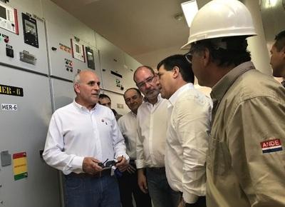 Se inauguraron mejoras de potencia eléctrica en Alto Paraná