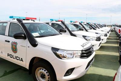 Unas 25 ambulancias y 30 patrulleras serán entregadas por Itaipú