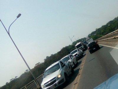 Conductor sufrió paro cardíaco a mitad del Puente Remanso