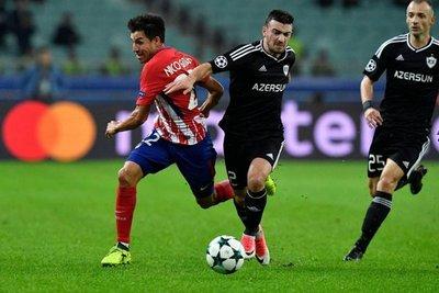 Un Atlético impotente empata ante Qarabagh