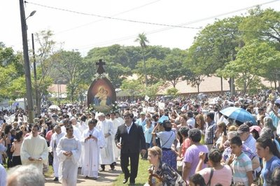 Miles de devotos visitaron Tupãrenda