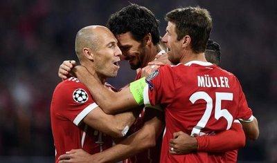 El Bayern resuelve sin problemas el trámite ante el Celtic