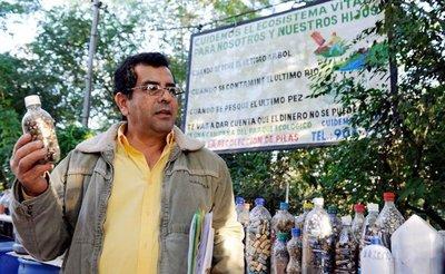 Buscan condenar a ambientalista que suplía las falencias del Estado