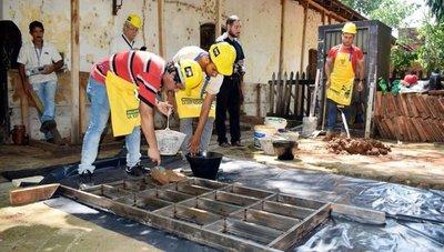 Luque habilita escuela taller para restaurar vieja estación