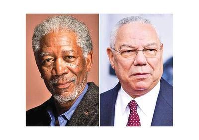 Morgan Freeman encarnará a Colin Powell