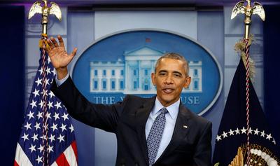 Barack Obama vuelve a la arena política