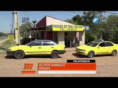 Taxistas proponen pedir cédula de identidad a pasajeros