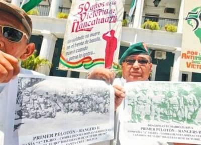 Exsoldados que enfrentaron al Che en Bolivia alistan homenaje a sus camaradas