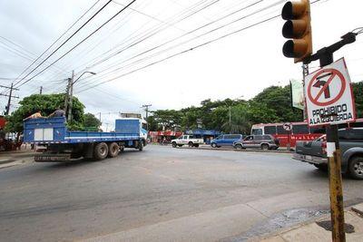 Asunción contará con señales de tránsito bilingües