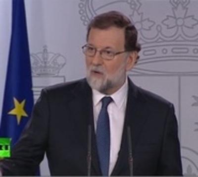 Rajoy anuncie cese del Gobierno Catalán