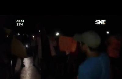 Pobladores de Aldana Cañada reclaman electricidad