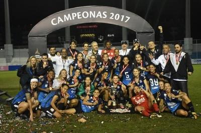 Audax/Corinthians conquista su primera Copa Libertadores Femenina