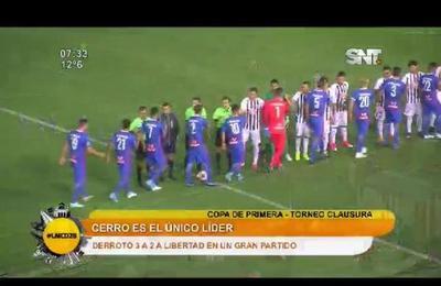 Cerro gana y llega a la cima del Torneo
