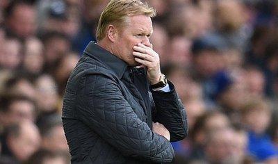 Everton despide a Koeman por malos resultados