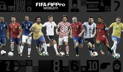 El once ideal de la FIFA de 2017