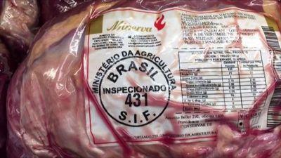 Luego del escándalo de carnes en Brasil, 63 personas fueron denunciadas