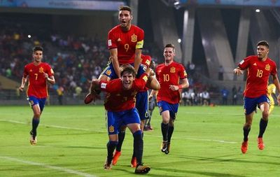 España-Inglaterra, la final del Sub-17