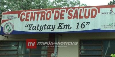 CHIKUNGUNYA: TAREAS DE BLOQUEO EN YATYTAY 16