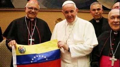 'Cumbre' de obispos con el Papa por crisis venezolana