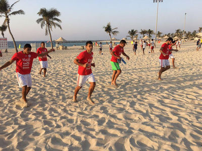 Paraguay se estrena en Dubai contra su similar de Irán en Playa