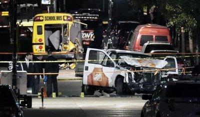 Atentado en NYC: mueren cinco argentinos
