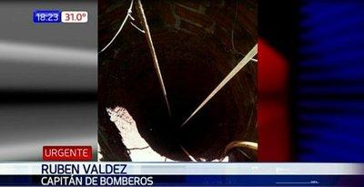 Fallece hombre que cayó a un pozo de 18 metros