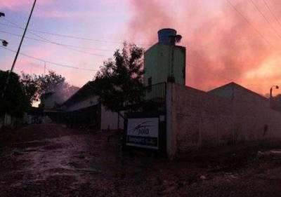 Incendio en Fernando: local colapsó y las pérdidas son cuantiosas