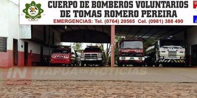 BOMBEROS AZULES DE TOMÁS ROMERO PEREIRA SE FORTALECEN