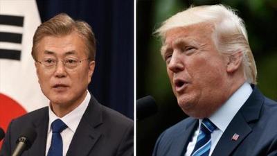 Trump enfatizará la alianza con la visita a la base de EE. UU. y el discurso parlamentario en Corea del Sur