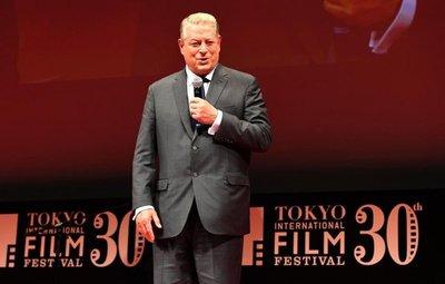 Nuevo documental medioambiental de Al Gore clausura el Festival de Tokio