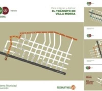 Comuna dispone cambios para agilizar tránsito en Villa Morra