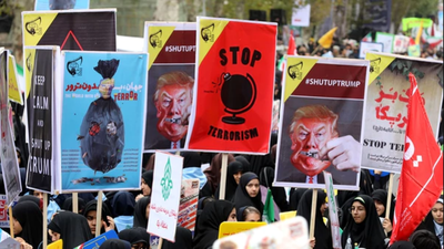Irán conmemoró los 38 años de la toma de la embajada de EE.UU.
