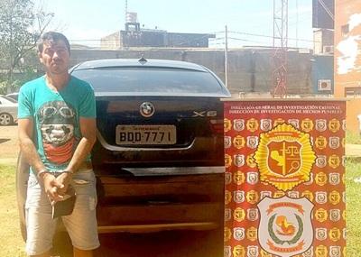 Detienen a robacoches brasileño y recuperan una lujosa camioneta