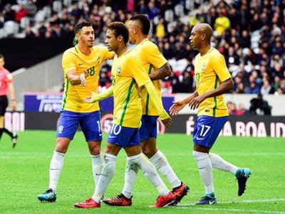 Brasil supera a Japón en juego amistoso