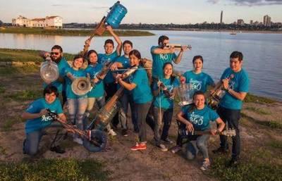 La Orquesta H2O Sonidos de la Tierra ofreció concierto en París