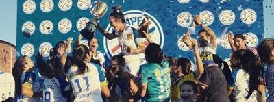 Capiatá obtiene primera copa en femenino