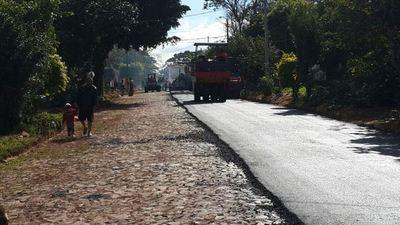 MOPC asfaltará 20 tramos interurbanos de Luque