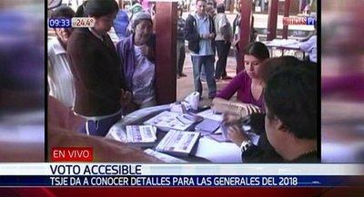 Más de 400 personas votarán desde sus hogares