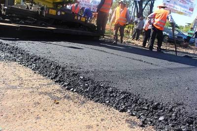 Pavimentarán tramos urbanos en Capiatá