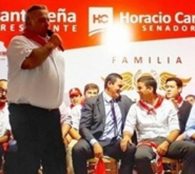 """Peña defiende a Óscar González Daher """"porque tiene votos"""""""