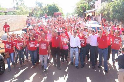 Con Peña, Caaguazú seguirá progresando, sostiene Marcelo Soto