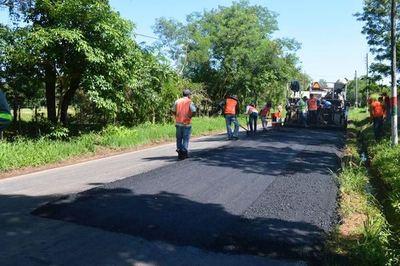 Calles están siendo racapadas y asfaltadas en cuatro ciudades de Central
