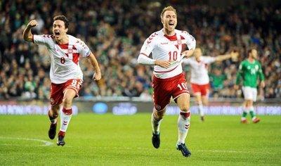 Dinamarca vence en Dublín y se convierte en el 30º equipo clasificado