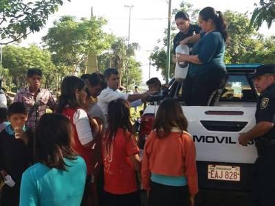 Nativos llegan a Asunción