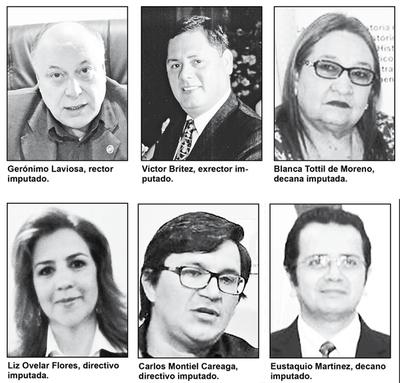 Corrupción: Directivos y docentes de la UNE imputados por Fiscalía