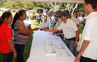 Más de 800 familias recibirán certificados de adjudicación en Canindeyú
