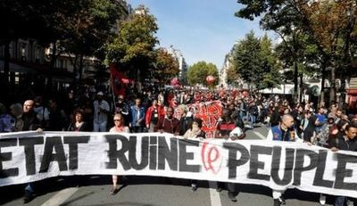 Nuevas protestas en Francia contra la reforma laboral de Macron