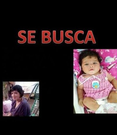 Menor y su bebé siguen desaparecidas